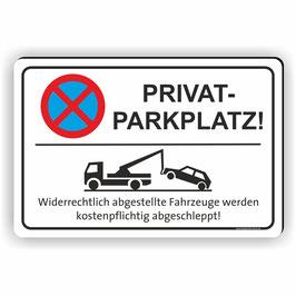 PV-003 Parkverbotschild Privatparkplatz