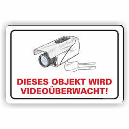 VÜ-003 Objekt wird Videoüberwacht!