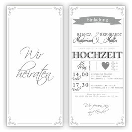 HO-018 Einladungskarte