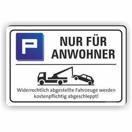 PV-057 NUR FÜR ANWOHNER