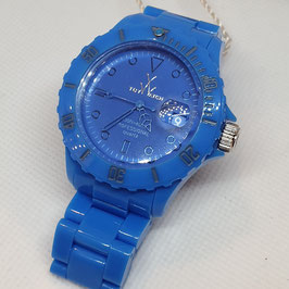 MONOCHROME LIGHT BLUE DIAL TOY WATCH
