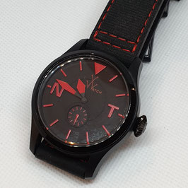 TOY TO FLY ONLY TIME BLACK DIAL TOY WATCH