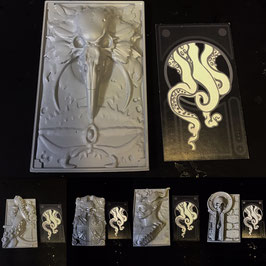 Complete Set of 5 Reliefs