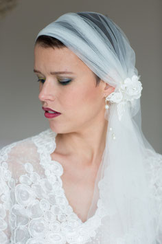 Voile mariée bohème