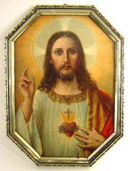 Jesus zeigt Herz
