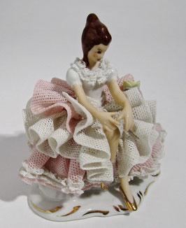 Ballerina rastend in Rosé