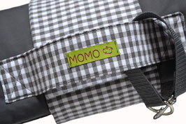 Hundedecke MOMO Outdoor - anthrazit/ grau