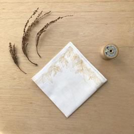 Mouchoir en coton sérigraphié