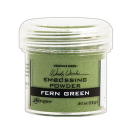 "Embossingpulver ""Fern Green"" - Ranger (Wendy Vecchi)"
