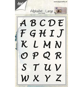 Alphabet Large - Joy Crafts