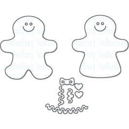 "Stanzschablone ""Mini Gingerbread Boy & Girl"" - Your Next Stamp"