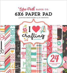 I Heart Crafting 6x6 Paperpad - Echo Park