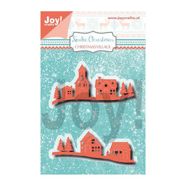 "Stanzschablone ""Christmas Village "" - Joy!Crafts"
