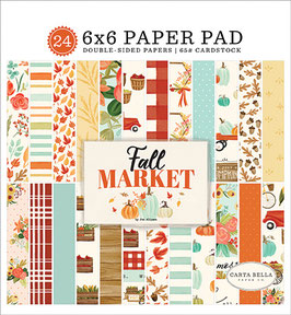 Fall Market 6x6 Paperpad - Carta Bella