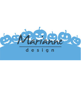 "Creatable ""Border With Pumpkins"" - Marianne Design"