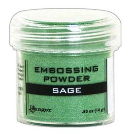 "Embossingpulver ""Sage Metallic"" - Ranger"