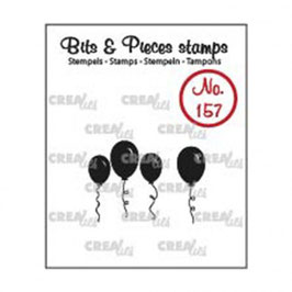 "Clearstamps ""Bits & Pieces #157 - Ballon"" - Crealies"