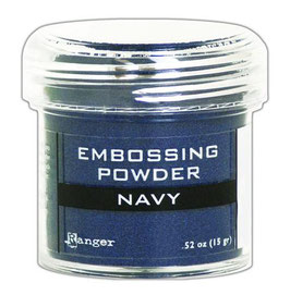 "Embossingpulver ""Navy Metallic"" - Ranger"
