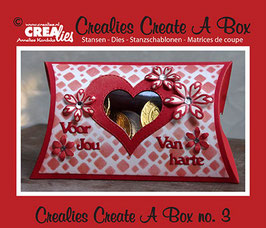 Create A Box, Pillow Box - Crealies