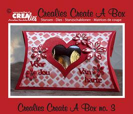 Create A Box, Pillow Box - Crealies