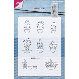 "Clearstamp ""Mery's Cactus"""" - Joy!Crafts"