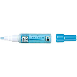 ZIG - 2 Way Glue Pen - Chisel Tip (Schmale Spitze)