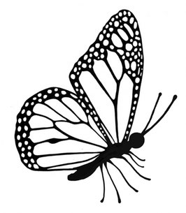 Mini Flutterby - Lavinia Stamps
