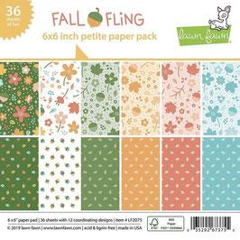 Fall Fling 6x6 Paperpad - Lawn Fawn