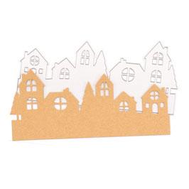 "Stanzschablone ""Gnomes City"" - Mundart Stempel"