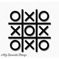 Tic Tac Toe, black - My Favorite Things