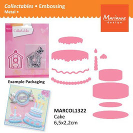 Collectables Cake - Marianne Design