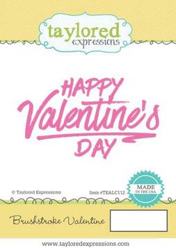 Brushstroke Valentine - Taylored Expressions