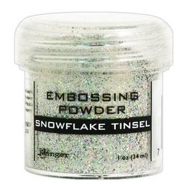 Snowflake Tinsel - Ranger Embossing Pulver