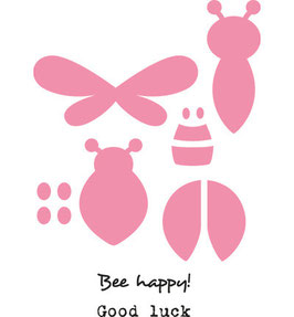 Collectables Bee & Lady Bird - Marianne Design