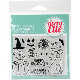 "Clearstamp-Set ""Bad Kitty"" - Avery Elle"