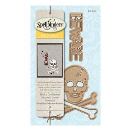 "Stanzschablone ""Skull n'Crossbones"" - Spellbinders"