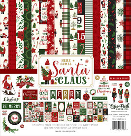Here Comes Santa Claus 12x12 Collection Kit - Echo Park