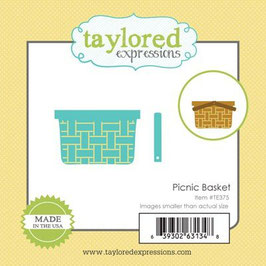 "Stanzschablone ""Picnic Basket"" - Taylored Expressions"