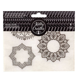 "Clearstampset ""Mandalas"" - Kelly Creates"