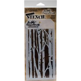 """Layered Stencil """"Birch"""" - Tim Holtz"""