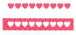 Bordüre Herzen - Impronte D'Autore