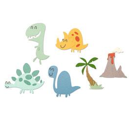 """Thinlits Die Set """"Dinosaurs"""" - Sizzix"""