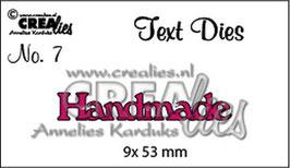 Handmade  - Crealies
