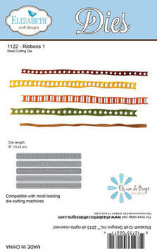 Ribbons - Elizabeth Craft Designs