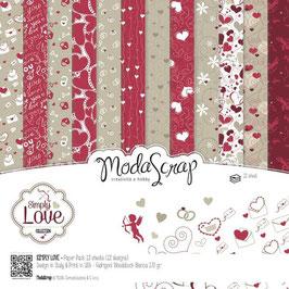 Simply Love 6x6 - Moda Scrap
