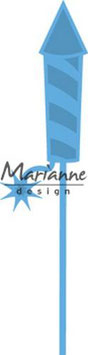 Creatable Fireworks Rocket - Marianne Design