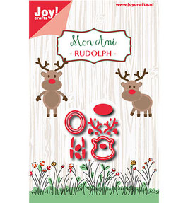 "Stanzschablone ""Mon Ami - Rudolph"" - Joy!Crafts"