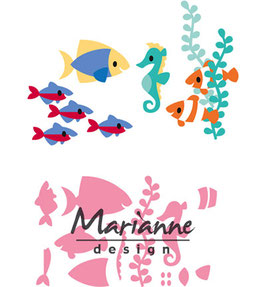 "Collectable ""Eline's Tropical Fish"" - Marianne Design"
