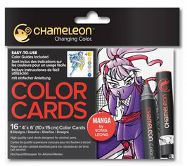 Color Cards Manga - Chameleon