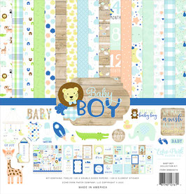 Baby Boy 12x12 Collection Kit  - Echo Park